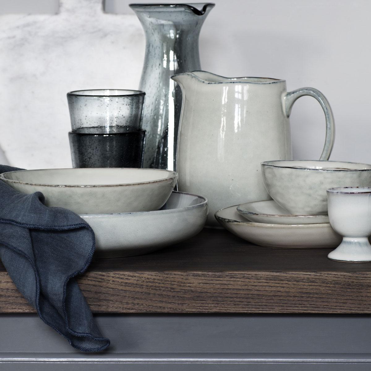 Broste Copenhagen Geschirr Pastateller Nordic Sand Online Shop Fu