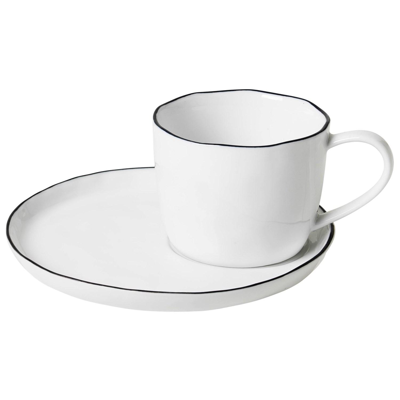Tasse mit Unterteller L
