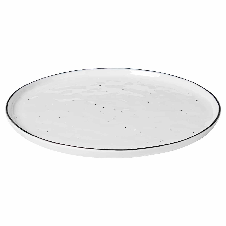 Broste Copenhagen Speiseteller Essteller Salt Dots ø 28 Cm In