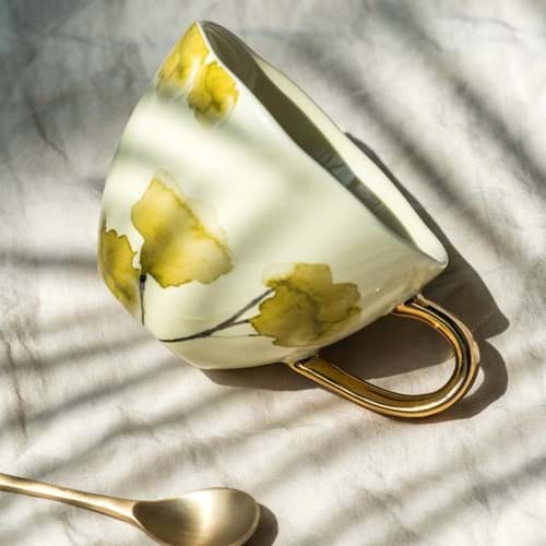 Henkeltasse 'Good Morning Sunshine' Pampa von Urban Nature, Bild 2