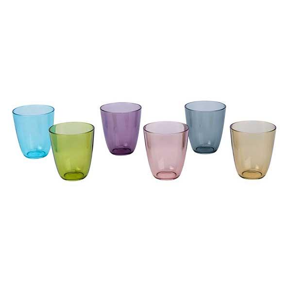 Trinkgläser farbig