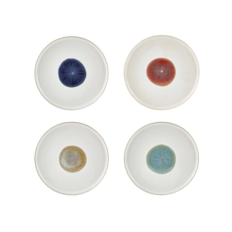 Bild von Essteller Offwhite Multi im 4er Set Ø 27 cm Villa Collection