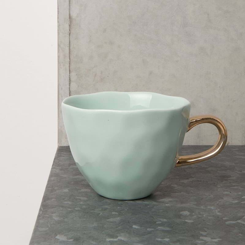 Bild von Henkeltasse 'Good Morning' Celadon von Urban Nature