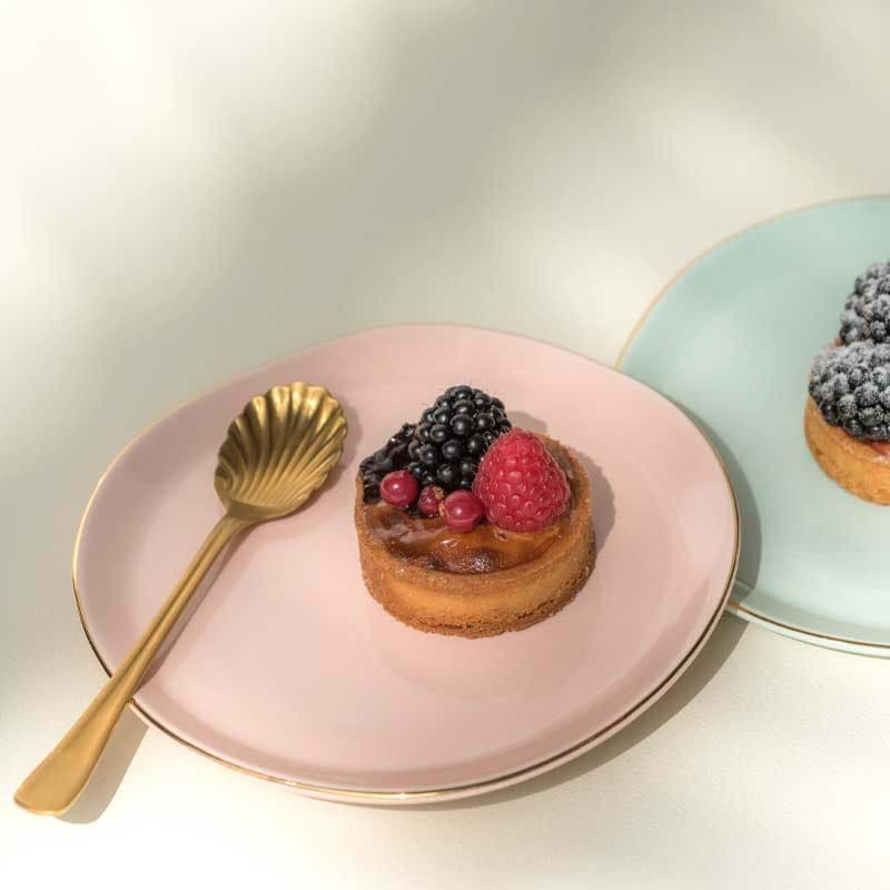 Bild von Dessertteller 'Good Morning' soft-pink von Urban Nature